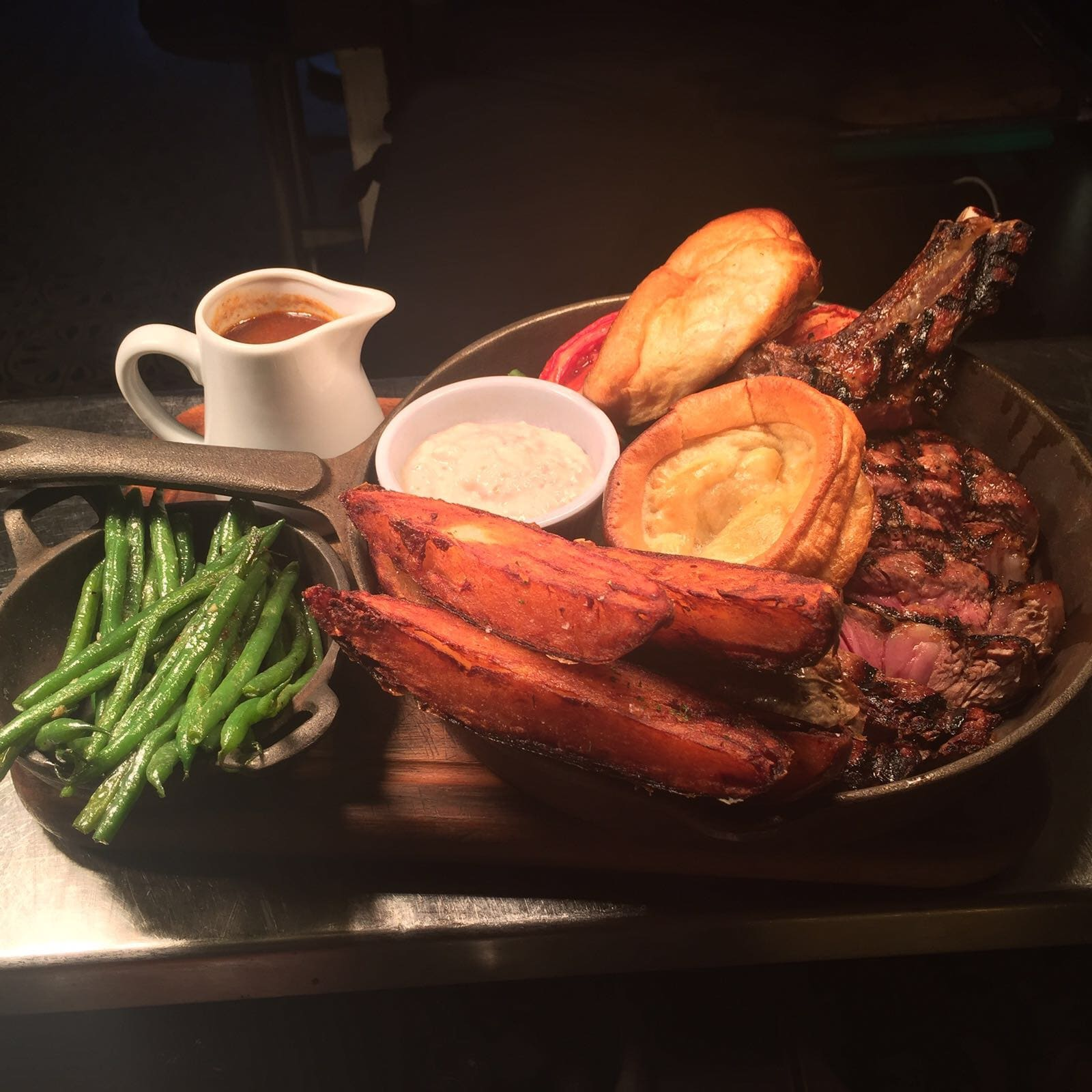 Sunday Roast at the River Bar Steakhouse in Cambridge